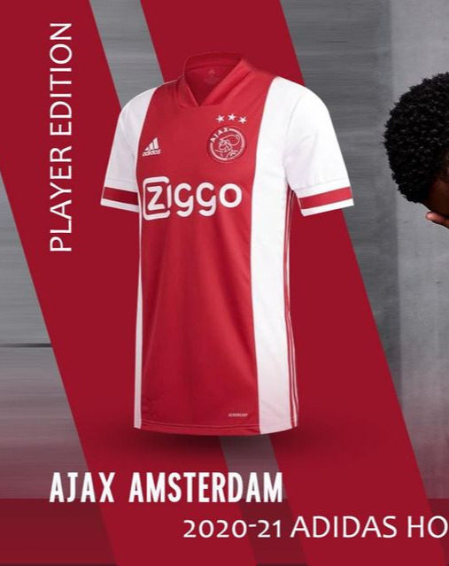 Ajax Home Kit 2020-21 (Player Version)